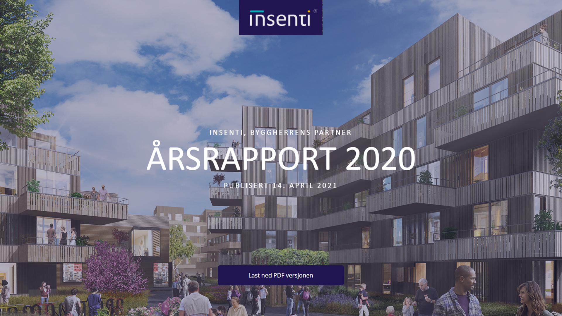 Insenti Annual Report